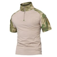 8ee23728277311 Mens Tactical T Shirt Short Army Military Camouflage T-Shirts Cotton Top Tee  Shirts Military