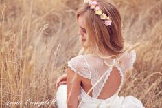 Well Dressed: Bridal Gown Collection by Anna Campbell - Forever Entwined   See More: http://www.thebridaldetective.com