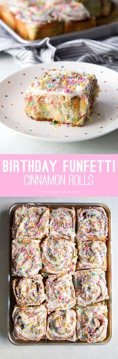 Funfetti Cinnamon Rolls