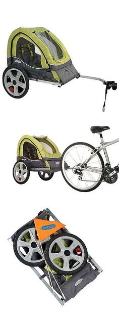 Trailers 85040 Pacific Cycle Instep Quick N Ez Double Bicycle