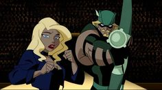"""Green Arrow and Black Canary began getting """"serious"""" after attempting to free Wildcat from a prize-fighting ring."""