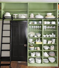 I know: open shelving is a little contentious
