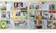 awesome layout from gluestickgirl