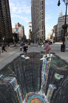Joe Hill Art - 3D Pavement Art dreapp.com