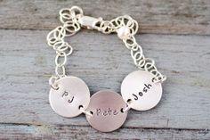 Links of Love Bracelet #mothersday #jewelry #bracelet Mother's Day Jewelry
