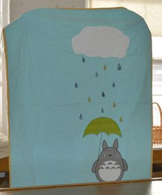Megan's My Neighbor Totoro quilt for her son.