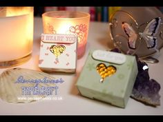 Box for 3 Chocolate Disks | Stampin' Up (UK) with Persephone's Papercraft