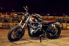 Custom Triumph Scrambler by Ton-up Garage