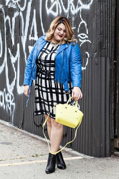 nicolette mason: {STYLE} Electric Blue - in a tie for my style icon. I adore her.