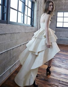 Alexis Leros Gown in Sand