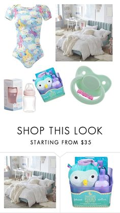 """""""Bedtime! Magical little"""" by little-liv on Polyvore featuring PBteen"""