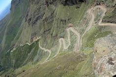 Sani Pass, KawaZulu Natal, África do Sul.