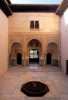 Patio del Cuarto Dorado, Alhambra