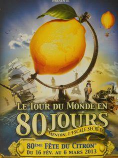 La fête du citron in Menton, France - www.MyFrenchLife.org