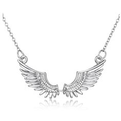 Fashion Women Jewelry Flying Nº wings pendant necklace New Year Gifts jewelry white  K plated carving Jewelry for women Fashion Women Jewelry Flying wings pendant necklace New Year Gifts jewelry white K plated carving Jewelry for women  http://wappgame.com