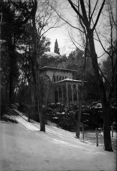 Parque del Retiro, Pabellón Chino (desaparecido), entre 1927 y 1936. António Passaporte (1901-1983) Archivo LOTY. Fototeca del Patrimonio Históricos Ministerio de Cultura, Madrid.