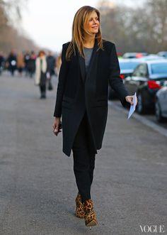 Street Style: London Fashion Week Fall 2013 - - Vogue