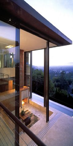 by Brooks & Scarpa Architects - Redelco Residence (Studio City, California -United States)
