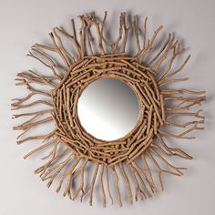 Love this driftwood mirror