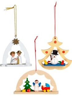 German Christmas ornaments. I have some similar in my Christmas stuff.