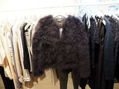 Winter15 Second Female Feather Jacket