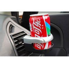 車の車両トラック折りたたみ飲料水ドリンクカップボトルホルダースタンドマウントドリンクホルダーカーインテリアオーガナイザー