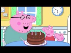 English nick jr and cartoon on pinterest for Peppa pig swimming pool english full episode