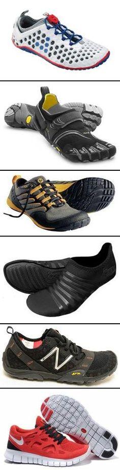 Top 6 Minimalist Running Shoes:    1) VIVOBAREFOOT   2) Vibram Five Fingers    3) Merrell Barefoot   4) ZEMgear   5) New Balance Minimus   6) Nike Free