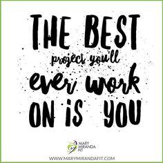 You will never regret working on yourself.  Dont like something about your life? Make it a project and work each day on it to change it. -  - El mejor proyecto en él que trabajaras en tu vida es en TI. - Nunca podrás arrepentirte de trabajar en ti. No te gusta algo de tu vida? Hazlo un proyecto y trabaja diario en ello para cambiarlo. - . . http://ift.tt/1T4hZ2a . All Social Media @MaryMirandaFit . http://ift.tt/2aZEWUB . . #marymirandafit #myfithealing #myfithealingmovement #fitover30…