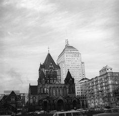 boston  april 1959    copley square church