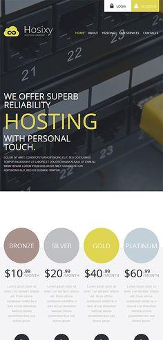 Hosting Most Popular website inspirations at your coffee break? Browse for more WordPress #templates! // Regular price: $75 // Sources available: .PSD, .PHP, This theme is widgetized #Hosting #Most Popular #WordPress