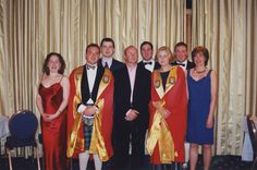 1999 The Student Exec with the University Rector #dundeeuni50