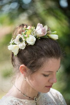 Leaf Fruit Rose Flower Hair Hoop Festival Party Women Headband Hair Accessories For Girls Floral Festival Hippy Hipster Bridal Apparel Accessories