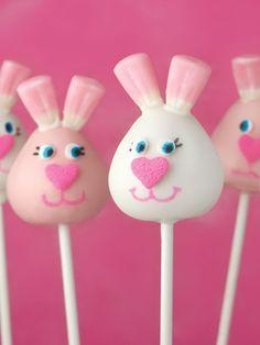 Bakerella's bunny cakepops