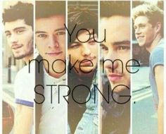They do make me strong