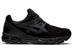 GEL-KAYANO TRAINER 21 | BLACK/BLACK | スポーツスタイル(アシックスタイガー) メンズ スニーカー | ASICS Air Max Sneakers, All Black Sneakers, Sneakers Nike, Hybrid Design, Mens Fashion Shoes, Asics, Black Men, Nike Air Max, Men's Shoes
