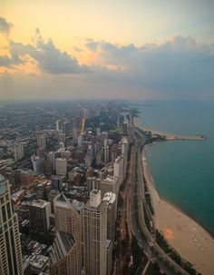 Chicago from the John Hancock Observation Deck.