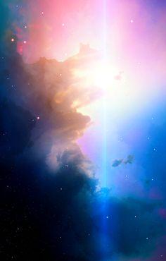 "Space art, nebula, universe, stars, ""Cosmos XVI"""
