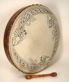 Percussão - Bodhrán - Céltico