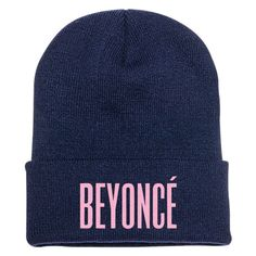 Beyonce Embroidered Knit Cap