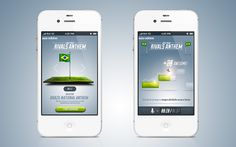Adidas iPhone App UI
