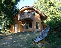 Hilde Dawe's Mayne Island Cob House