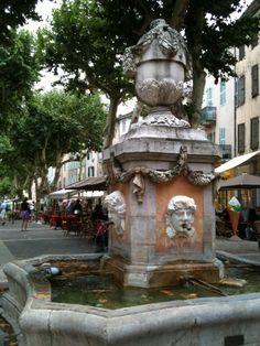 Fontaine de Cotignac - By Corinne Sorin (Var)