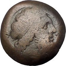 PTOLEMY I Soter 289BC Zeus Eagle ALEXANDRIA EGYPT Ancient Greek Coin i55092