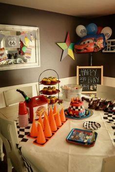Festa infantil tema Carros | Macetes de Mãe