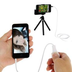 Camera Remote Release Shutter Cable for iPhone iPhone 4 & , iPad mini 1 / 2 / 3 / New iPad (iPad / iPad 2 / iPad, iPod touch 5 / iOS or later) Mobile Accessories, Phone Accessories, Any App, New Ipad, Shutters, Ipod Touch, Ipad Mini, Iphone 4