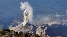 Volcán Santiaguito entra en nueva fase eruptiva en Guatemala