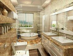 #bathroom #bathdesign #architecture #archdaily #cozybathroom #home #house #bathtub #bathroomview #view #desaininterior #arsitek #instainterior #kamarmandi #desainkamarmandi #instadesain #desain by funninspiring