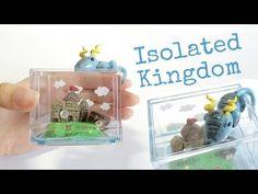 MINI JELLYFISH TANK AQUARIUM Polymer Clay Resin Tutorial - YouTube
