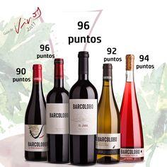 Sobresaliente para todos nuestros vinos en la Guía Sevi, alcanzando hasta los 96 puntos